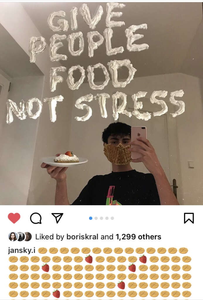 give people food not stress